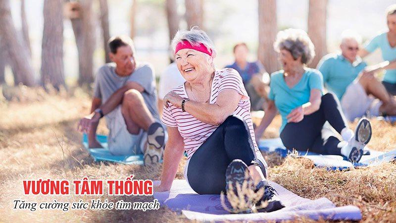 Người bệnh suy tim độ 1 cần rèn luyện thói quen luyện tập thể dục thường xuyên